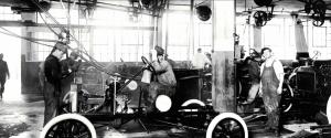 Ford assemblagelijn